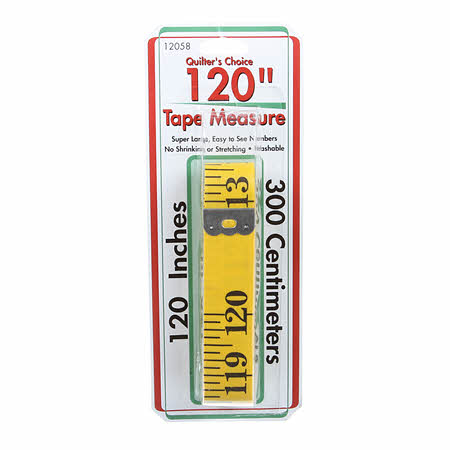 Quilter's Choice 120 tape measure