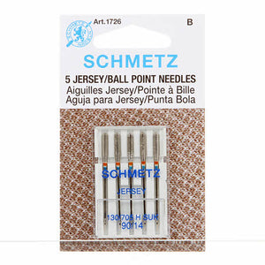 Chrome Jersey Schmetz Needle 5 ct, Size 90/14