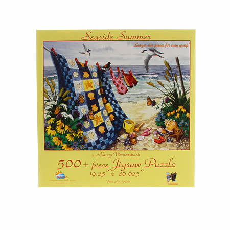 Seaside Summer 500pc puzzle