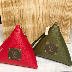 The Fortune Cookie/ Wonton Bag in Red