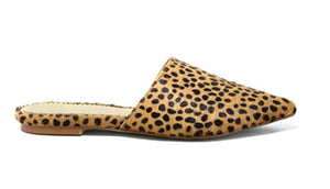 Mule Style Loafer in Cheetah