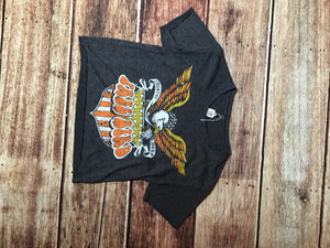 Cropped Free Bird T- Shirt