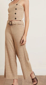 Knit Trouser and Cami Top