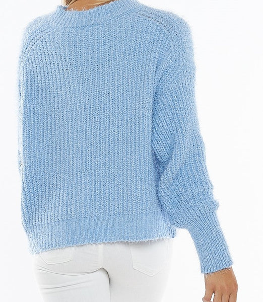 Sky Blue Sweater