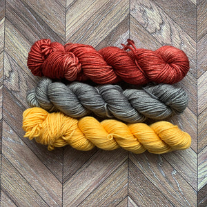 Zed Superfine Merino DK Mini Collection - 440