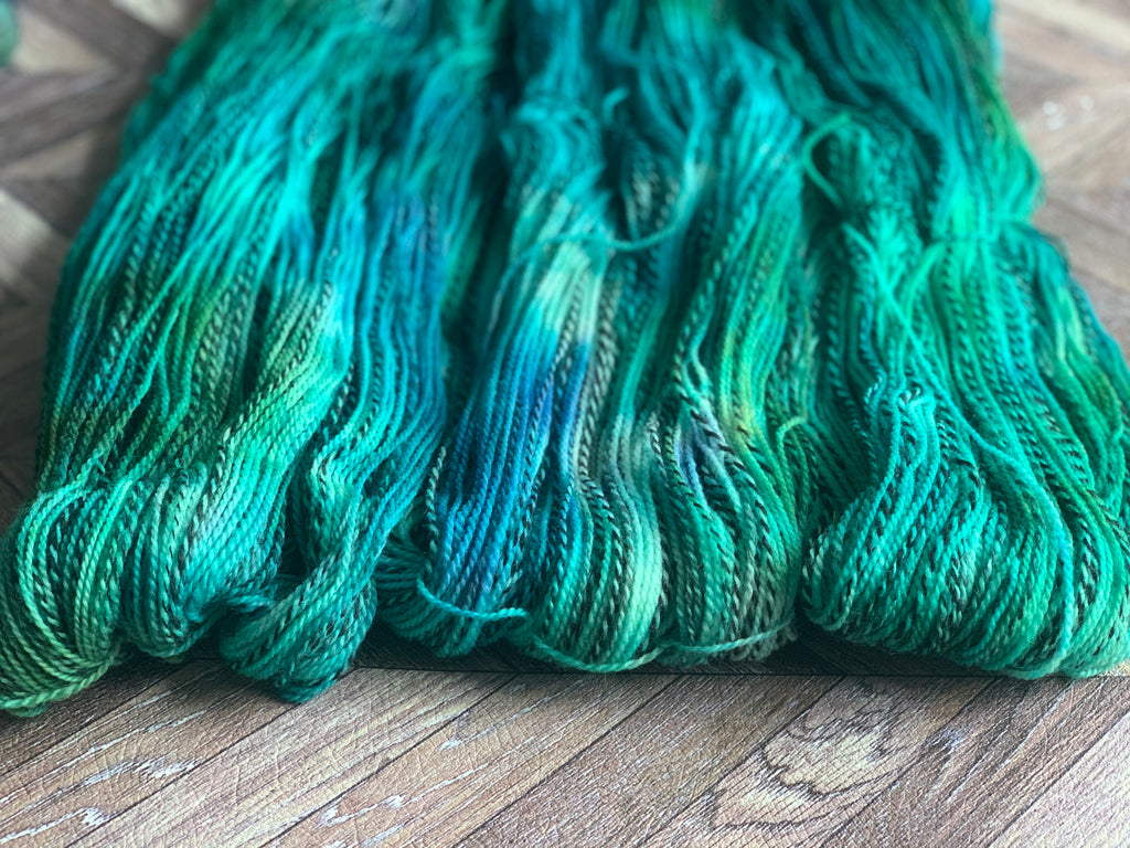 Wool U Knit - Marl Blue Green
