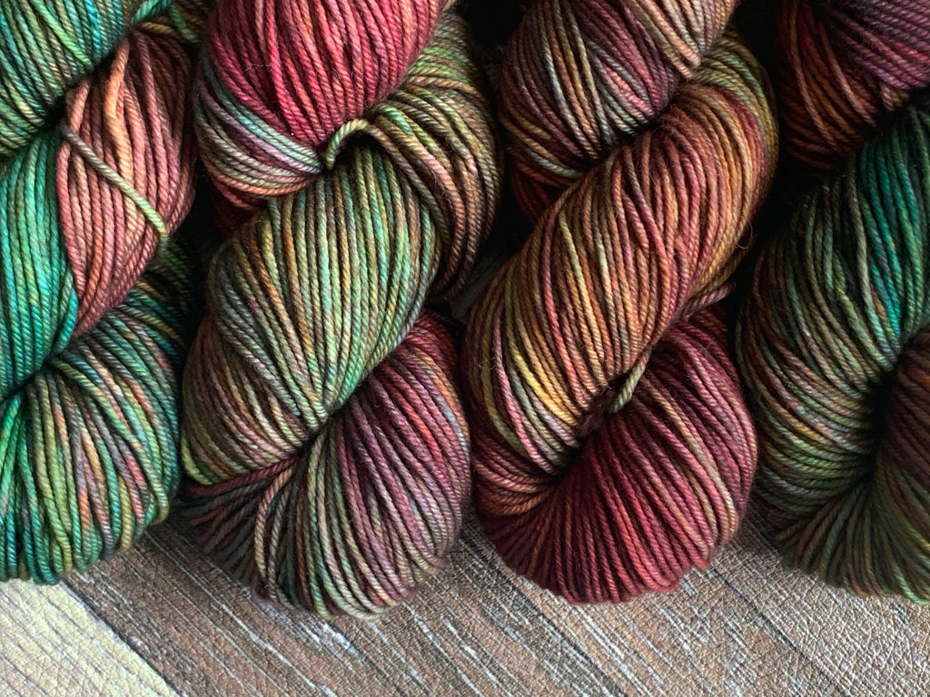 Zed Superfine Merino Worsted- Inner Artist No.6