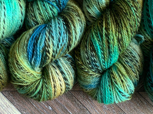 Wool U Knit Fingering Marl - Pond 2