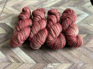 Rustic Marl Fingering - Pepperberry