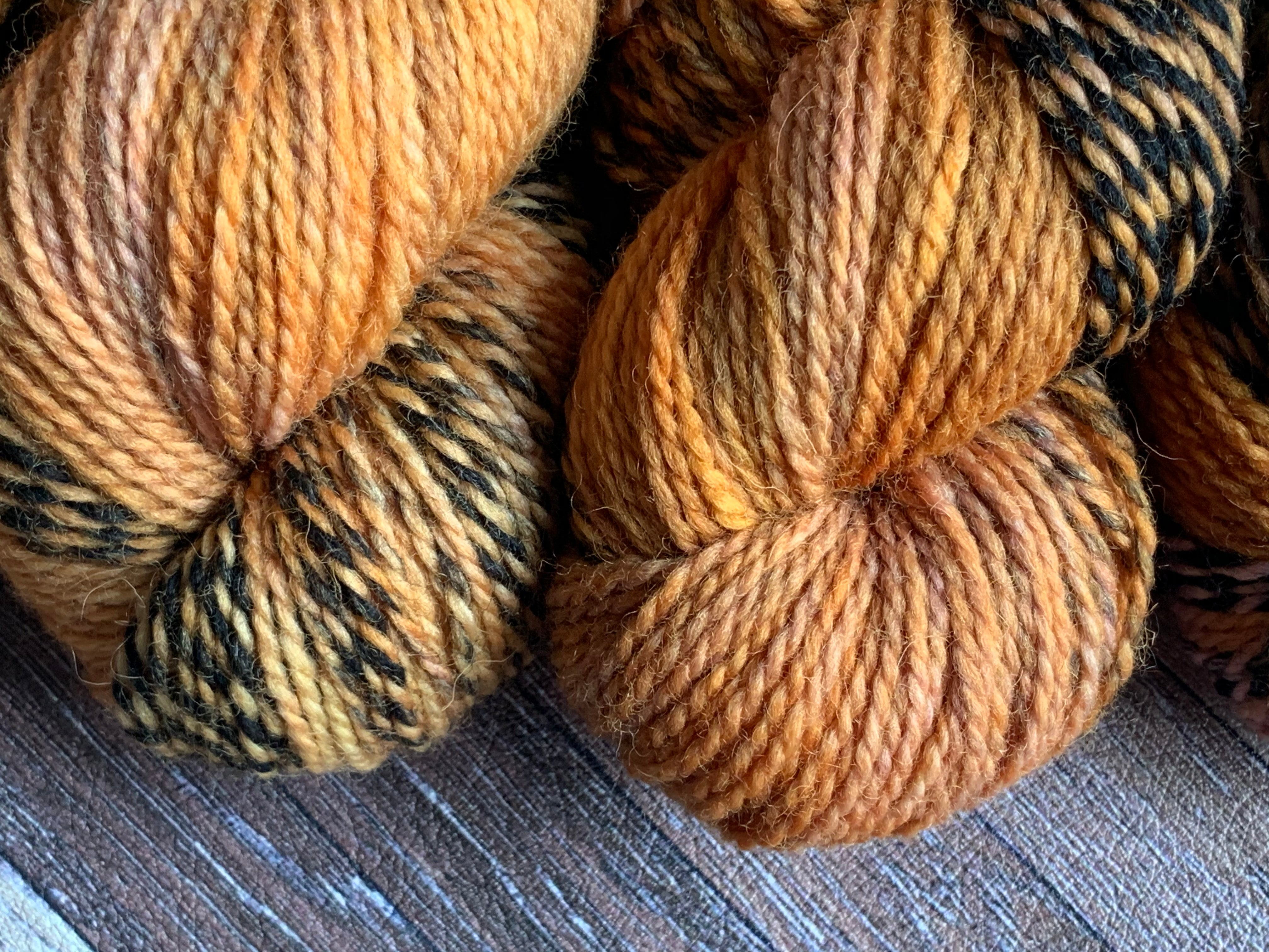 Rustic Worsted Marl - Amber