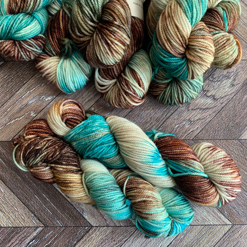 Zed Superfine Merino DK MINI - Merriweather