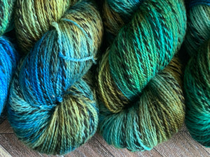 Wool U Knit Fingering Marl - Pond 1