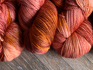 Zed Superfine Merino Fingering - Rum Punch