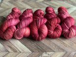 Zed Superfine Merino Fingering - Cherry Pink