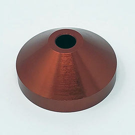 45RPM SPINDLE ADAPTER • RED