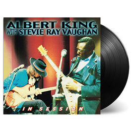 ALBERT KING & STEVIE RAY VAUGHAN • IN SESSION