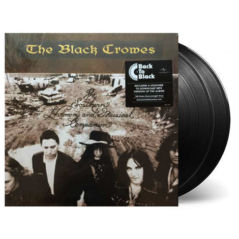 THE BLACK CROWES • THE SOUTHERN HARMONY AND MUSICAL COMPANION • 2 LP