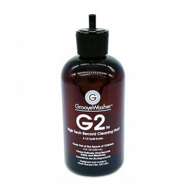 GROOVEWASHER G2 RECORD CLEANING FLUID 8 OZ. REFILL BOTTLE