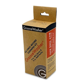 GROOVEWASHER G2 RECORD CLEANING FLUID KIT - 2 OZ MIST SPRAY & 4 OZ REFILL