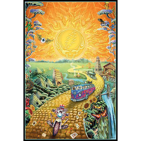 [POSTER] GRATEFUL DEAD • GOLDEN ROAD