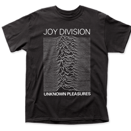 JOY DIVISION • UNKNOWN PLEASURES TEE SHIRT