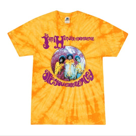 JIMI HENDRIX • ARE YOU EXPERIENCED? • SMALL BATCH TIE-DYE MEN'S TEE SHIRT