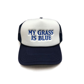 MY GRASS IS BLUE • FOAM TRUCKER HAT