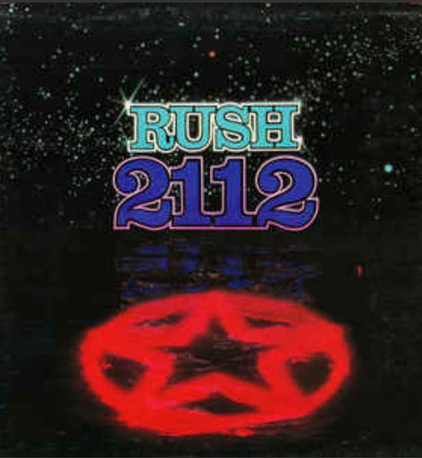 RUSH • 2112 • BLUE COLORED VINYL • LIMITED EDITION