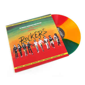 ROCKERS • OST • RED, GOLD & GREEN VINYL