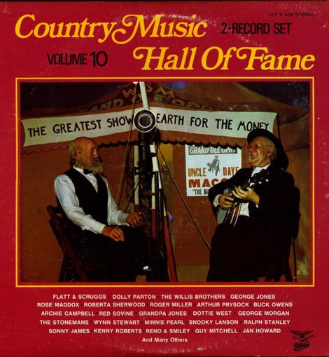 VARIOUS ARTISTS: COUNTRY MUSIC HALL OF FAME VOL. 10 • 2LP