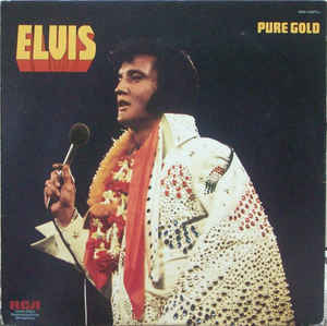 ELVIS PRESLEY • PURE GOLD • CUT-OUT