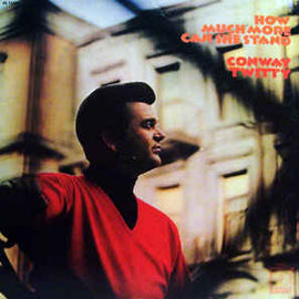 CONWAY TWITTY • HOW MUCH MORE CAN SHE STAND • CUT-OUT