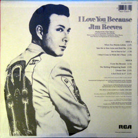 JIM REEVES • I LOVE YOU BECAUSE