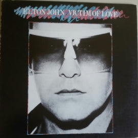 ELTON JOHN • VICTIM OF LOVE • CUT-OUT