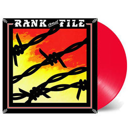 RANK AND FILE • SUNDOWN • COW PUNK CLASSIC! • RED VINYL
