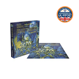 IRON MAIDEN • LIVE AFTER DEATH • 500 PIECE JIGSAW PUZZLE • U.K. IMPORT