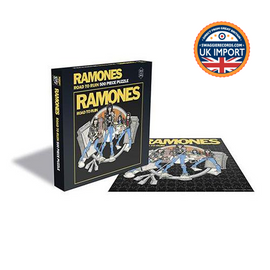 RAMONES • ROAD TO RUIN • 500 PIECE JIGSAW PUZZLE • U.K. IMPORT