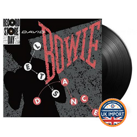 "DAVID BOWIE • LET'S DANCE 12"" SINGLE • RECORD STORE DAY 2018 EXCLUSIVE • RARE O.O.P. • U.K. IMPORT"