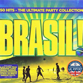 [CD] VARIOUS ARTISTS • BRASIL! • 3 DISC SET • COMPARE @ USD $12.99 • U.K. IMPORT