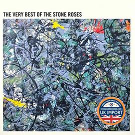 [CD] STONE ROSES • THE VERY BEST OF THE STONE ROSES • U.K. IMPORT