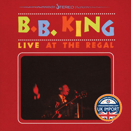 [CD] B.B. KING • LIVE AT THE REGAL