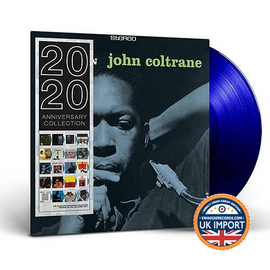 JOHN COLTRANE • BLUE TRAIN • LIMITED EDITION BLUE VINYL • U.K. IMPORT