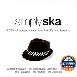 [CD] VARIOUS ARTISTS • SIMPLY SKA • 4 DISC BOX SET FOR $12.99! • U.K. IMPORT