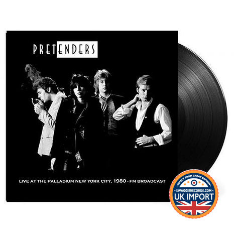 PRETENDERS • LIVE AT THE PALLADIUM NYC 1980 • U.K. IMPORT