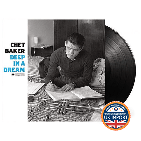 CHET BAKER • DEEP IN A DREAM • U.K. IMPORT