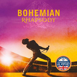 [CD] QUEEN & ADAM LAMBERT • BOHEMIAN RHAPSODY OST • WORLDWIDE SMASH! COMPARE @ $13.00 • U.K. IMPORT