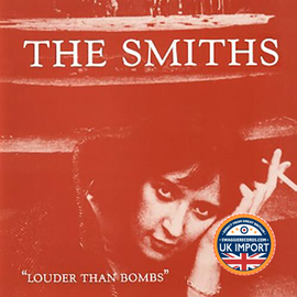 [CD] THE SMITHS • LOUDER THAN BOMBS • CLASSIC COMPILATION • U.K. IMPORT