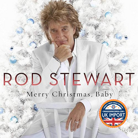 [CD] ROD STEWART • MERRY CHRISTMAS, BABY • U.K. IMPORT