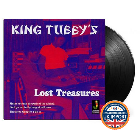KING TUBBY • LOST TREASURES • U.K. IMPORT