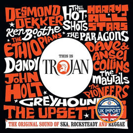 [CD] VARIOUS ARTISTS • THIS IS TROJAN RECORDS • U.K. IMPORT 3 DISC SET